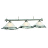 "Image of RAM Game Room 60"" 3 Lt Billiard Light- Stainless Lighting PR260 ST"