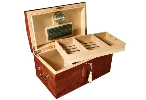 Prestige Broadway 150 Count Desktop Humidor Cigar Room BRDW