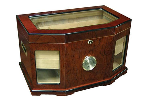 Prestige Chancellor 300 Ct. Desktop & End Table Humidor Cigar Room CHNL