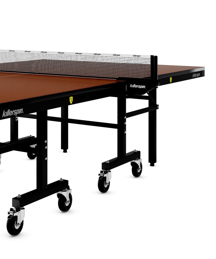 Killerspin MyT10 Mocha Indoor Ping Pong Table Game Room 366-22
