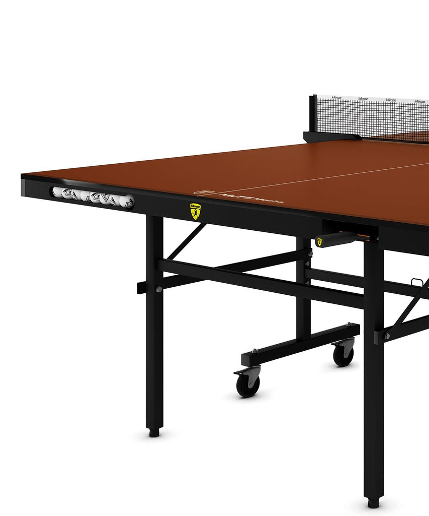 Killerspin MyT5 Mocha Indoor Ping Pong Table Game Room 361-17