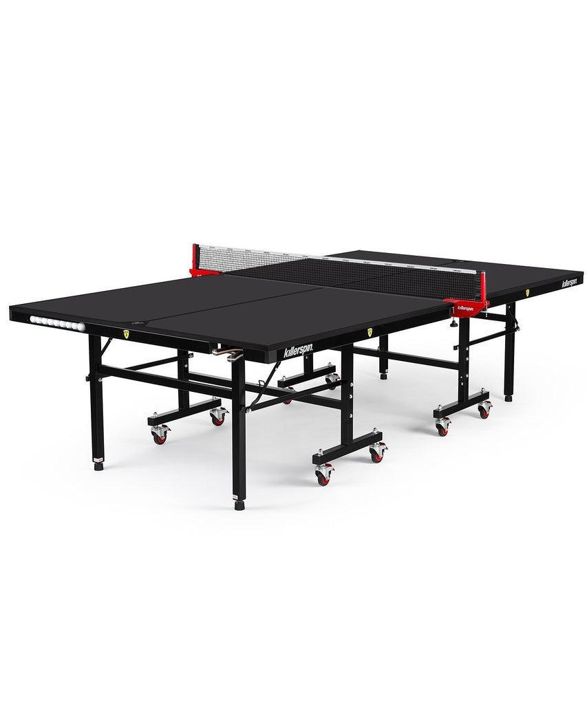 Killerspin MyT7 BlackPocket Indoor Ping Pong Table Game Room 363-11