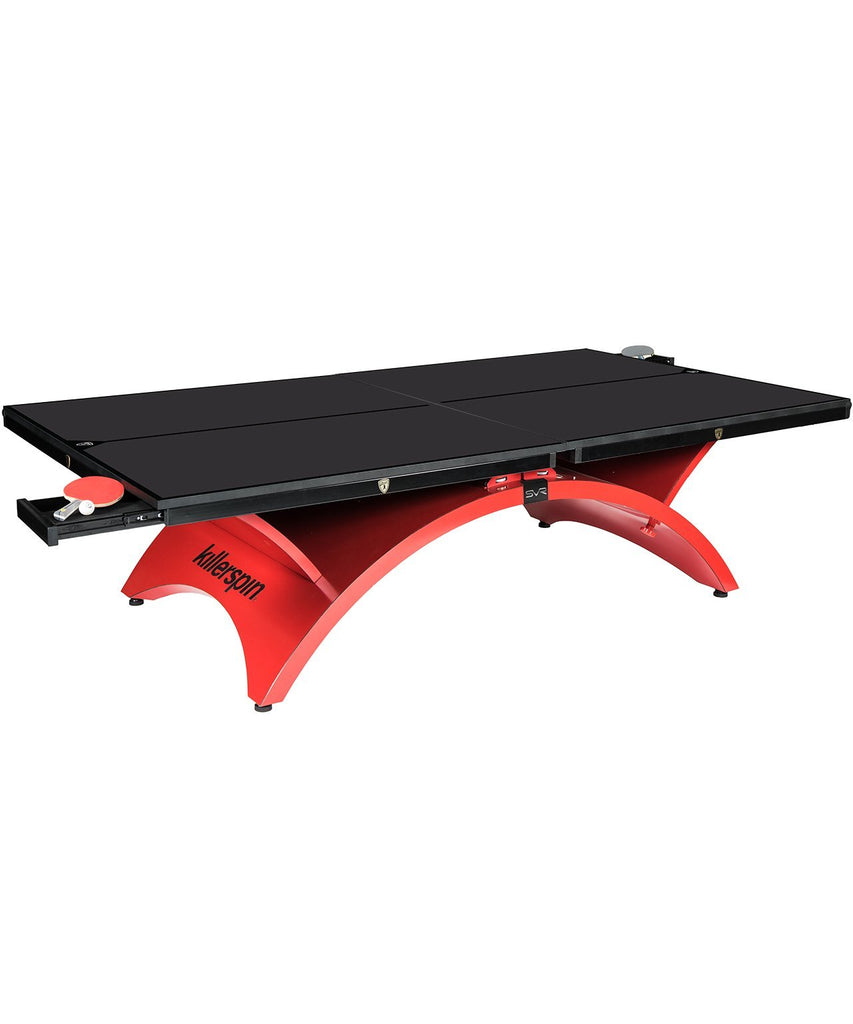 Killerspin Revolution SVR Rosso Luxury Ping Pong Table Game Room 301-39