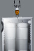 "Image of Summit Appliance 24"" Wide Built-In Beer Dispenser Bar Room SBC56GBIADA"