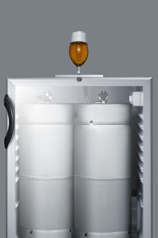 "Summit Appliance 24"" Wide Built-In Beer Dispenser Bar Room SBC56GBINKADA"