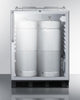 "Image of Summit Appliance 24"" Wide Built-In Beer Dispenser Bar Room SBC56GBINKCSSADA"