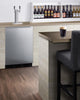 "Image of Summit Appliance 24"" Wide Built-In Kegerator Bar Room SBC58BBIADA"