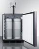 "Image of Summit Appliance 24"" Wide Built-In Kegerator Bar Room SBC58BBIIFADA"