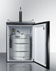 "Image of Summit Appliance 24"" Wide Built-In Kegerator Bar Room SBC635MBI"