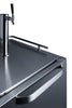 "Image of Summit Appliance 24"" Wide Built-In Outdoor Kegerator Bar Room SBC695OS"