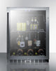 "Image of Summit Appliance 24"" Wide Built-In Beverage Center Bar Room SCR2466"