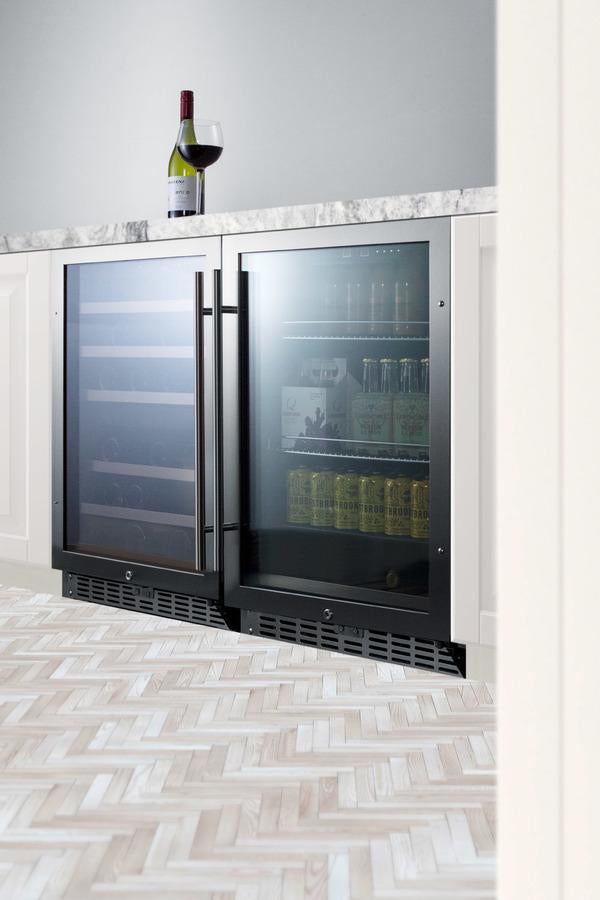 "Summit Appliance 24"" Wide Built-In Beverage Center Bar Room SCR2466"