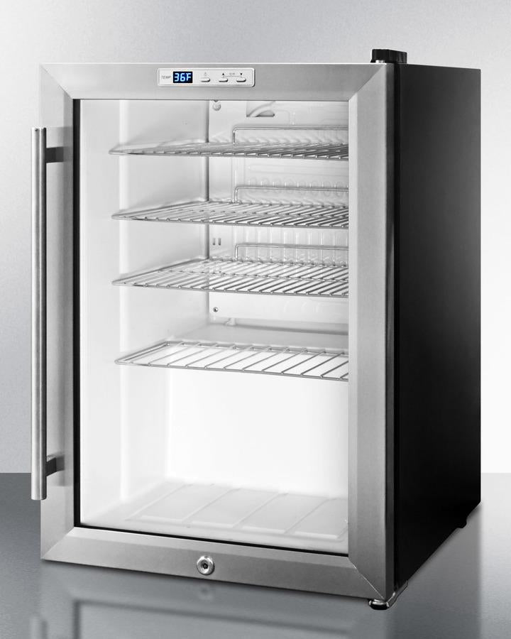 Summit Appliance Compact Built-In Beverage Center Bar Room SCR312LBI