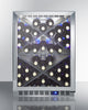 "Image of Summit Appliance 24"" Wide Single Zone Outdoor Commercial Wine Cellar Bar Room SCR611GLOSX"