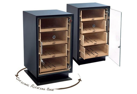 Prestige Manchester Base Rotating Counter Display Humidor & Accessory Cigar Room MCHBSE