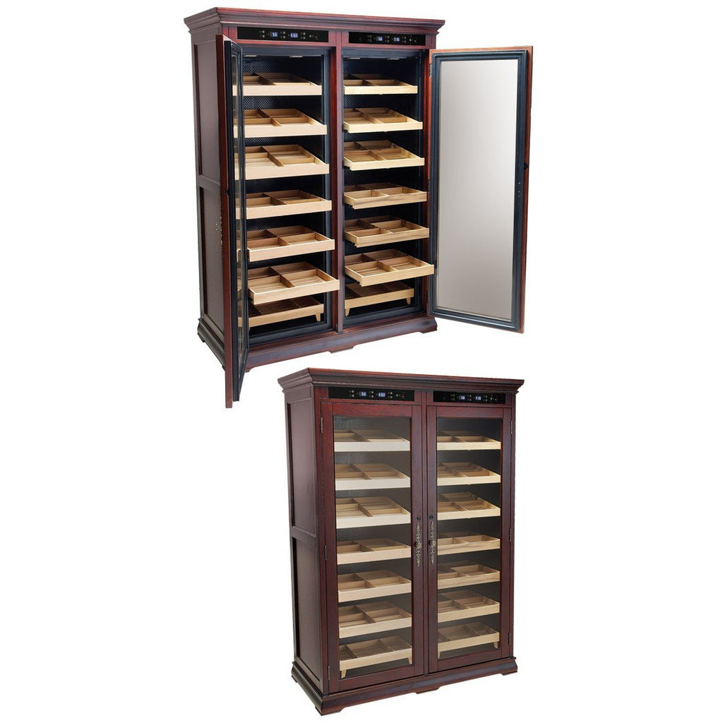 Prestige Remington Lite 2000 Electric Controlled Cabinet Humidor Cigar Room RMGTN/LT