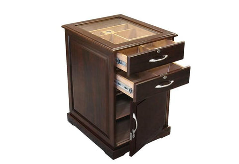 Prestige Santiago 700 Ct. Desktop & End Table Humidor Cigar Room SNTGO