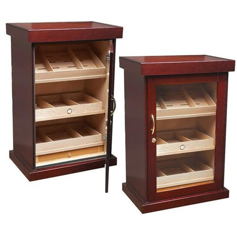 Prestige Remington 2000 Electric Controlled Cabinet Humidor Cigar Room RMGTN
