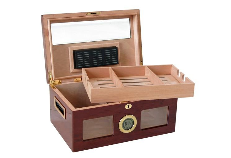 Prestige Valencia Digital 120 Ct. Desktop Humidor Cigar Room VLNCA/D