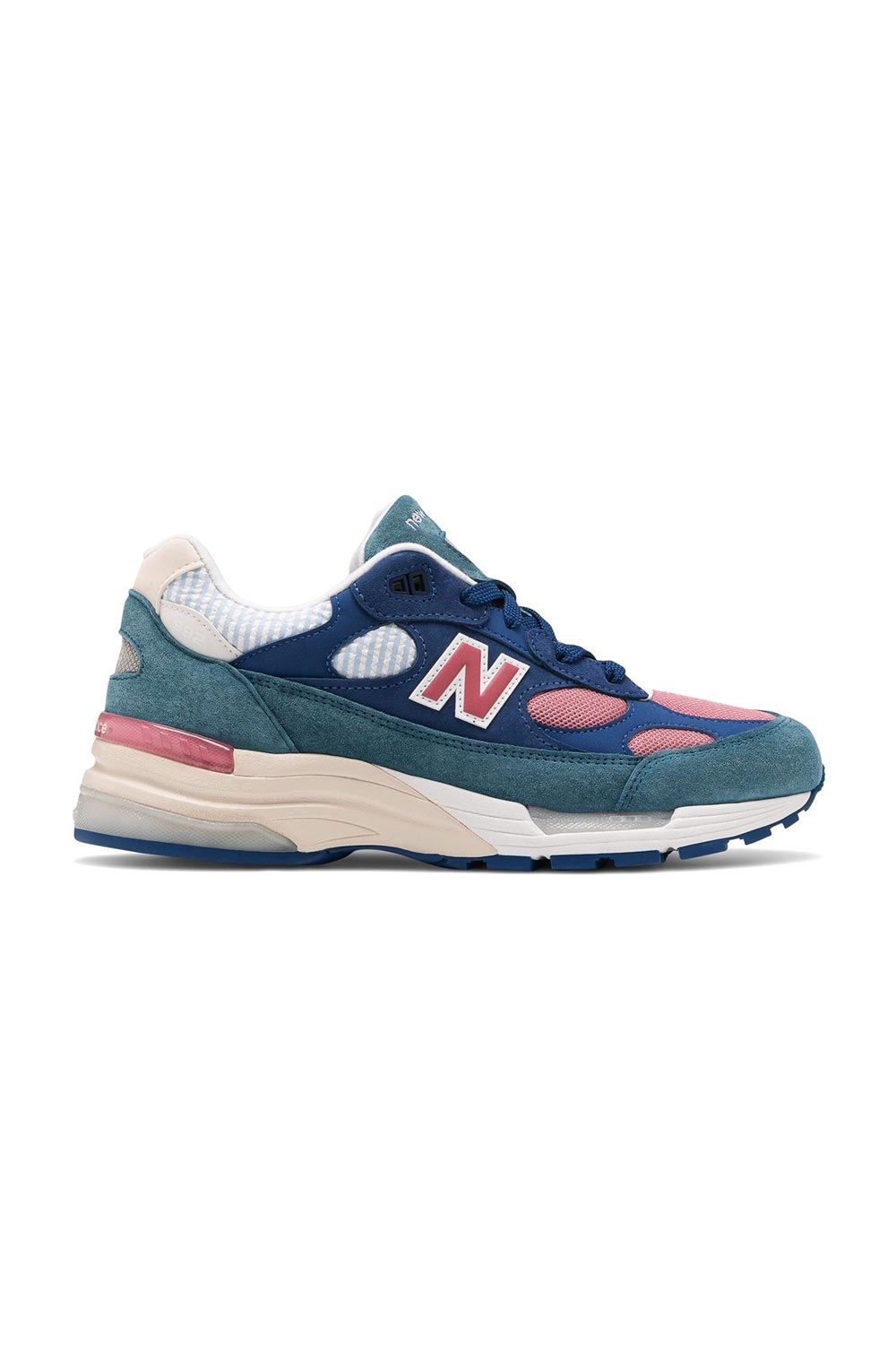 New Balance 992 Blue Teal Rose