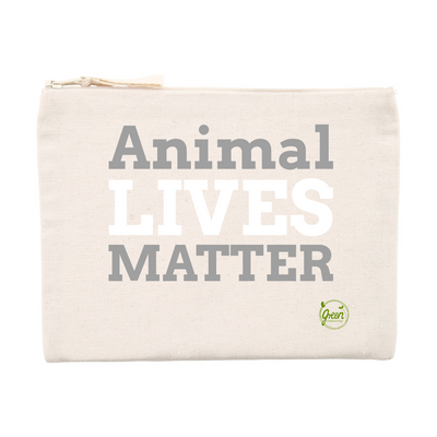 Animal Lives Matter | Federmappe / Schminktasche von Green Consulting