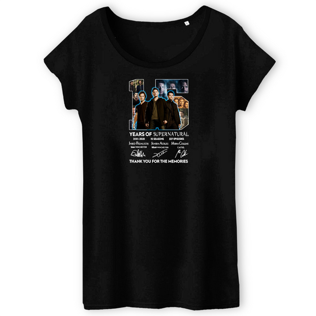 15 Jahre Supernatural | Damen T-Shirt