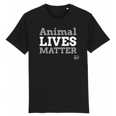 Animal Lives Matter | Unisex T-Shirt von Green Consulting
