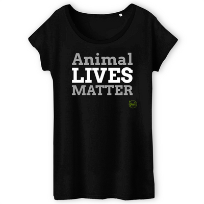Animal Lives Matter | Damen T-Shirt von Green Consulting
