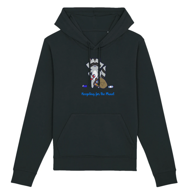 Recycling | Unisex Hoody mit Fronttasche