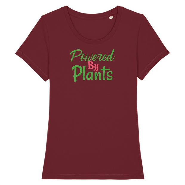 Powered by Plants | Damen T-Shirt Slim Fit