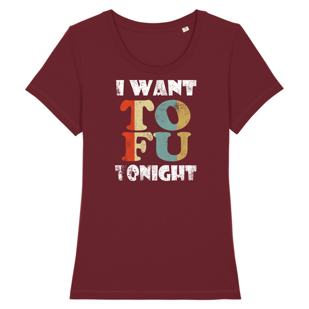 Tofu | Damen T-Shirt Slim Fit