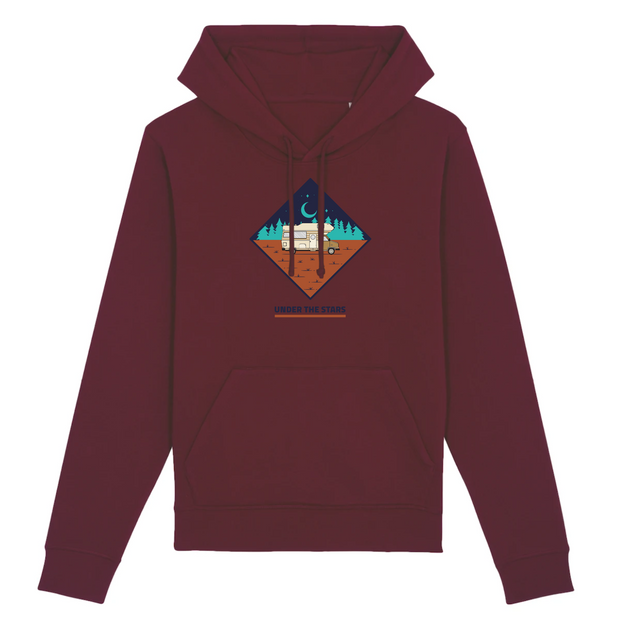 Under the Stars | Unisex Hoody mit Fronttasche