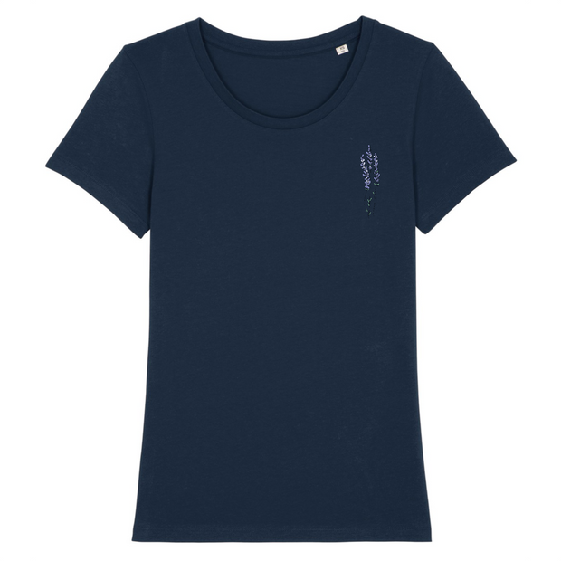 Lavendel | Damen T-Shirt Slim Fit