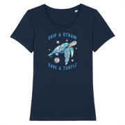 Save a Turtle | Damen T-Shirt Slim Fit