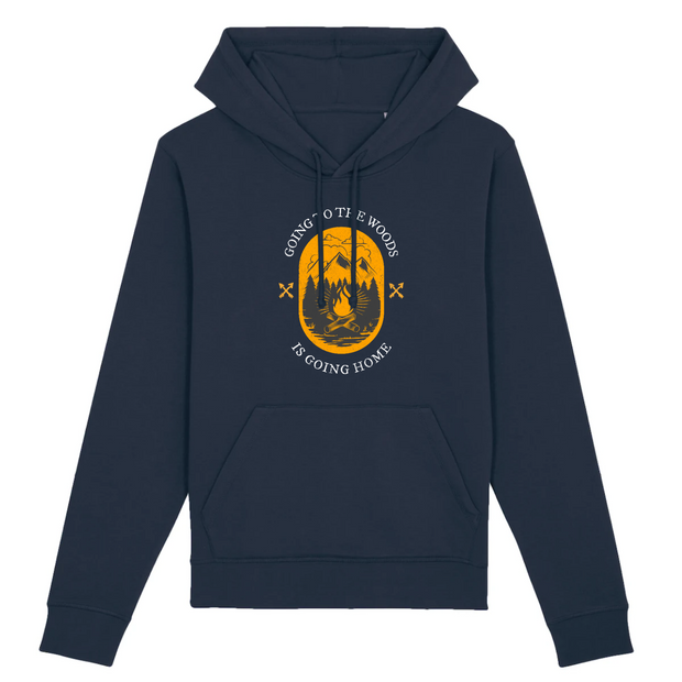 Going to the Woods | Unisex Hoody mit Fronttasche