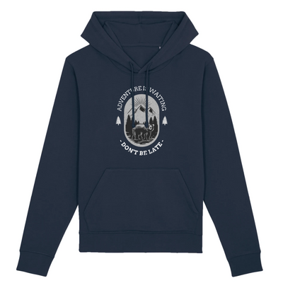 Adventure is Waiting | Unisex Hoody mit Fronttasche