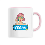Pop Up Vegan | Keramik Tasse