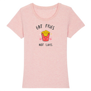 Eat Fries | Damen T-Shirt Slim Fit