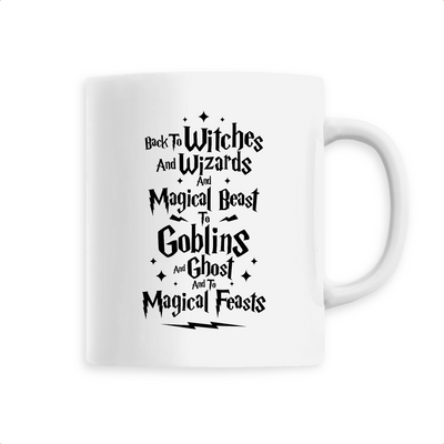 Back to Witches | Keramik Tasse
