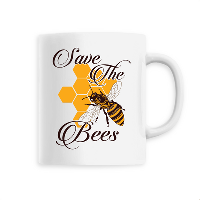 Save the Bees | Keramik Tasse
