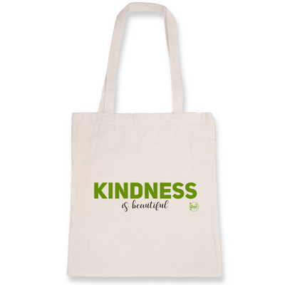 Kindness is Beautiful | Baumwolltasche von Green Consulting