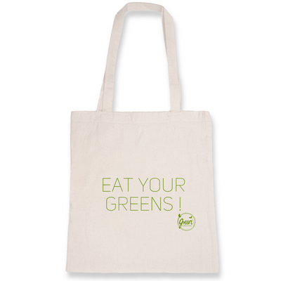 Eat Your Greens | Baumwolltasche von Green Consulting