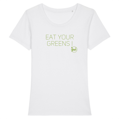 Eat Your Greens | Damen T-Shirt Slim Fit von Green Consulting