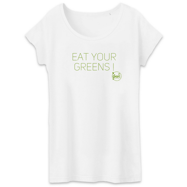 Eat Your Greens | Damen T-Shirt von Green Consulting