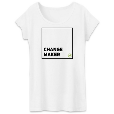 Change Maker | Damen T-Shirt von Green Consulting