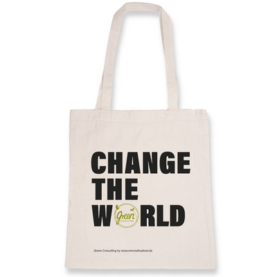 Change the World | Baumwolltasche von Green Consulting