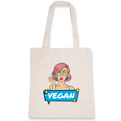 Pop Up Vegan | Baumwolltasche