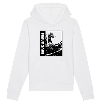 Save Waves | Unisex Hoody mit Fronttasche