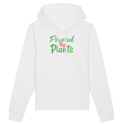 Powered by Plants | Unisex Hoody mit Fronttasche