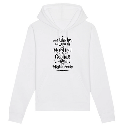 Back to Witches | Unisex Hoody mit Fronttasche